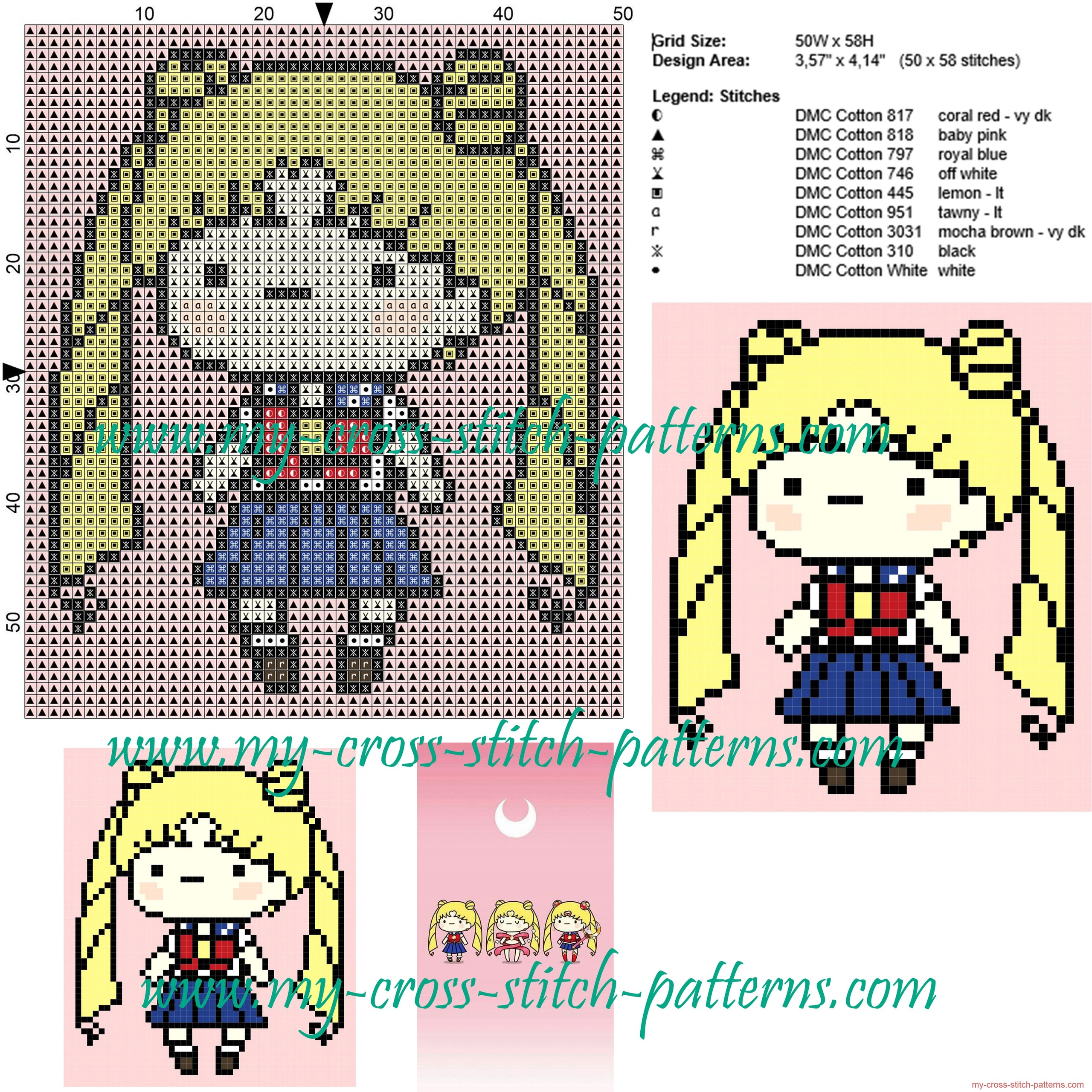 usagi_cross_stitch_pattern_sailor_moon_cross_stitch_pattern_