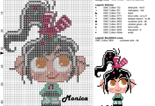 vanellope_chibi_cross_stitch_pattern_