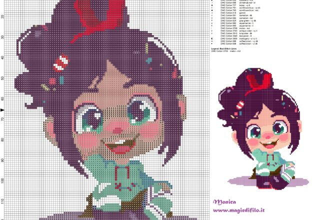 vanellope_wreck_it_ralph_cross_stitch_pattern