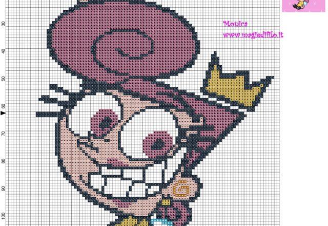 wanda_the_fairly_oddparents_cross_stitch_pattern