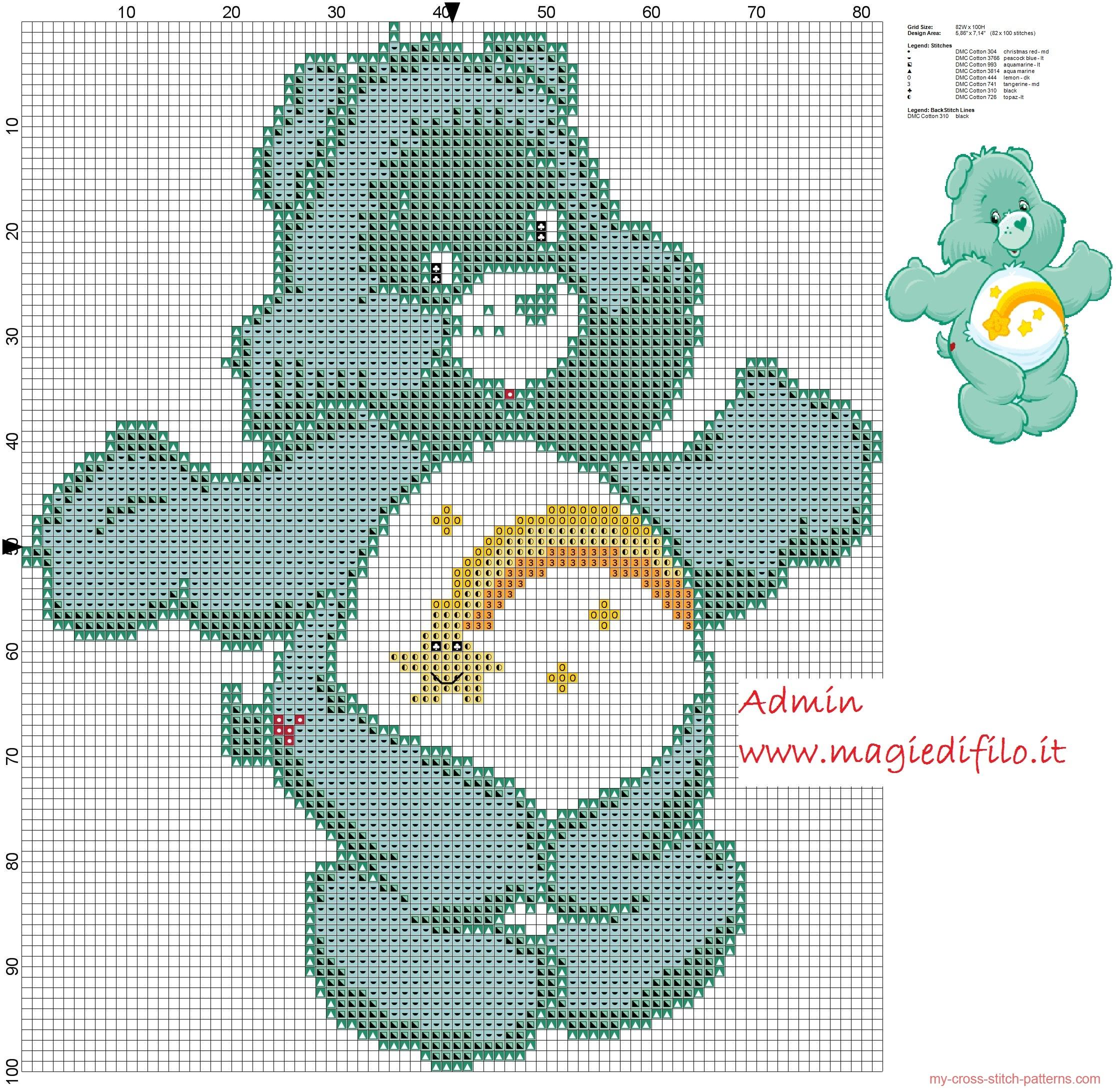 wish_bear_from_care_bears_cartoon_cross_stitch_pattern_free
