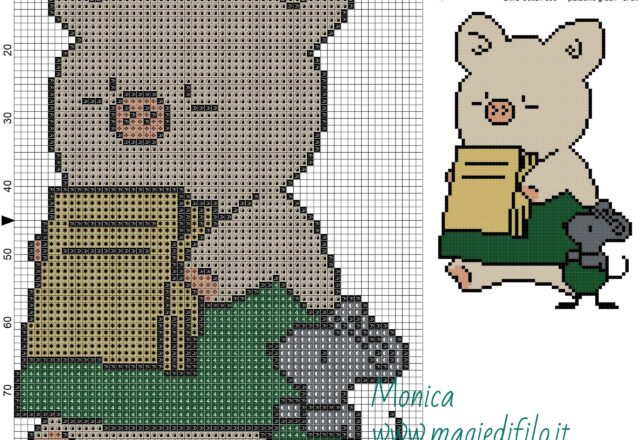 zashikibuta_and_taddy_cross_stitch_pattern_
